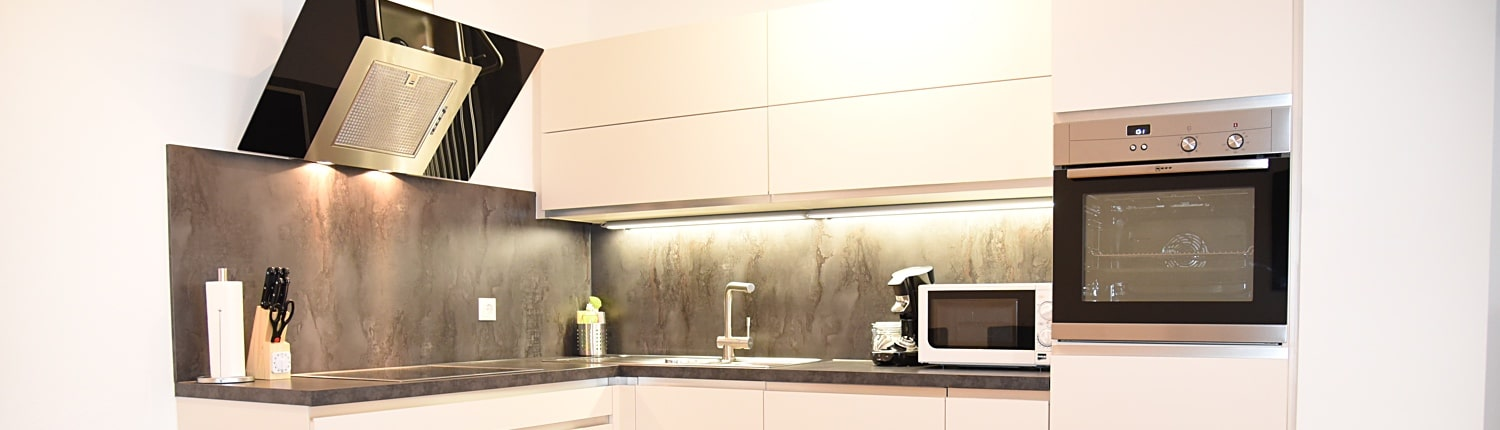 Serviced Apartment with full Kitchen